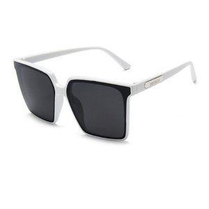 Paris Hilton Style Square Oversized Sunglasses WHITE